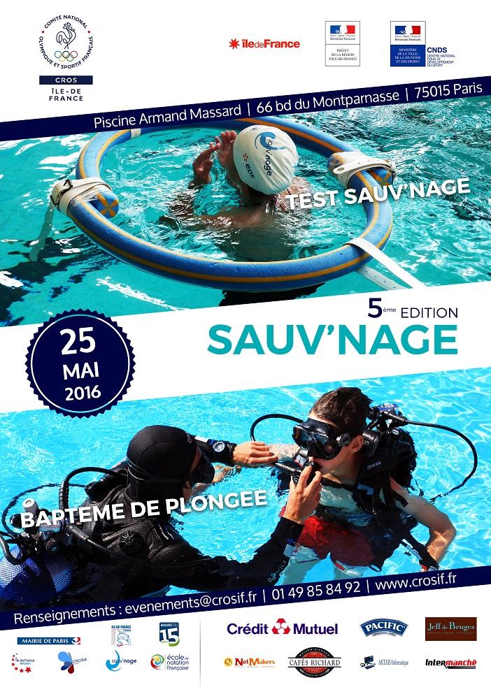 Retour sur sauv 39 nage 25 mai 2016 crosif for Piscine armand massard