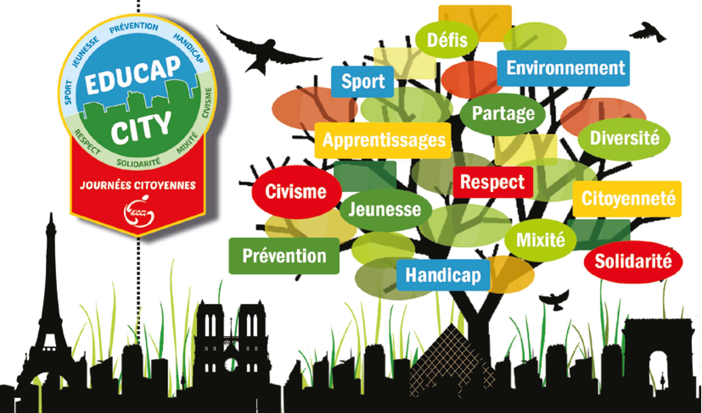 """Résultat de recherche d'images pour """"logo educap city"""""""